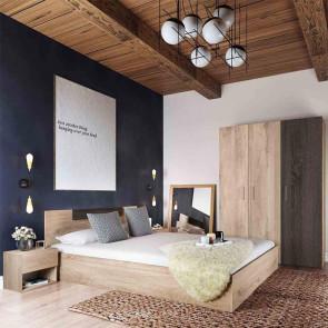 Camera da letto completa matrimoniale Verona rovere