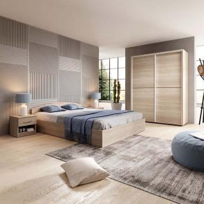Camera da letto matrimoniale completa Roma rovere