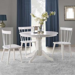 Tavolo tondo Zeff bianco