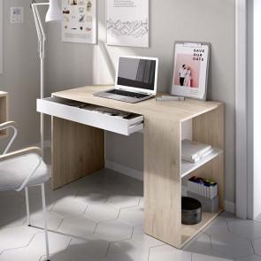 Scrivania ufficio Tiger rovere bianco