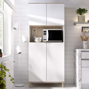 Mobile da cucina Penny 4 ante bianco rovere