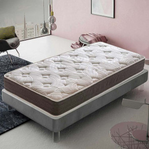 Materasso singolo Dream schiumato ad acqua 90 x 190 cm 7 zone