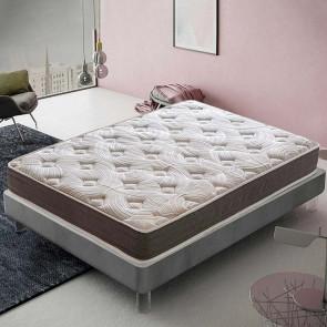 Materasso Dream schiumato ad acqua 120 x 190 cm 7 zone