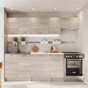 Cucina moderna lineare Dalia 240 cm rovere sonoma standard