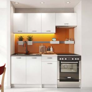Cucina moderna bianca Dalia 180 cm lineare standard