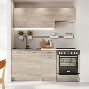Cucina moderna lineare Dalia 180 cm rovere sonoma standard