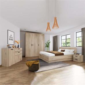 Camera da letto completa Rio rovere sonoma