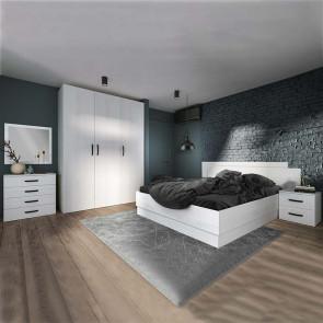 Camera da letto completa Angara pino bianco