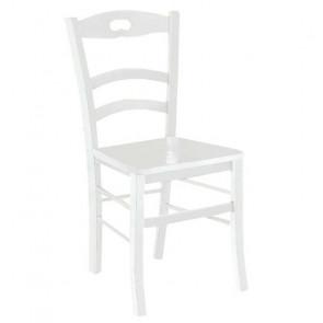 Sedia in legno Astrid Gihome ® bianca