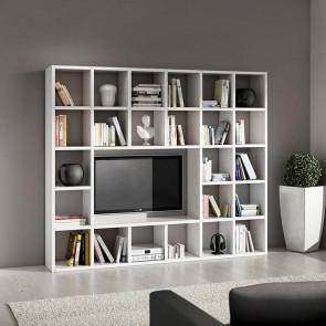 Libreria moderna Kubic 05