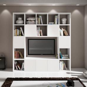 Libreria moderna Kubic 12