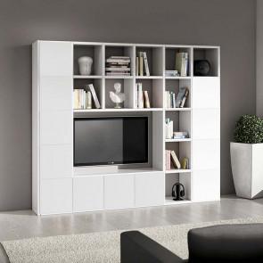 Libreria moderna Kubic 11