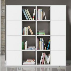 Libreria moderna Kubic 07