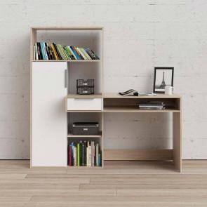 Scrivania ufficio Lorena Gihome ® con libreria