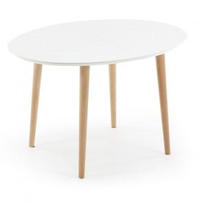 Tavolo legno rotondo Oqui