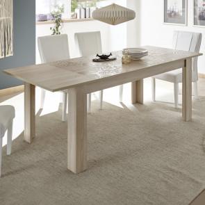 Tavolo legno Miro samoa 137x90 cm con allunga 48 cm