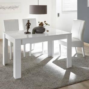 Tavolo legno Miro bianco 137 con allungo