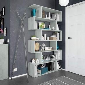 Libreria Shelf cemento