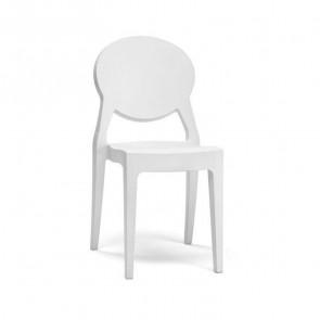 Sedia Igloo Chair Scab bianco ignifugo