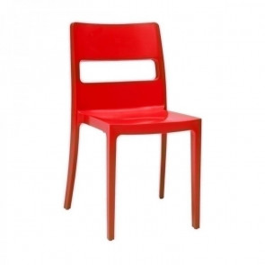 Sedia Sai rosso ignifugo Scab Design