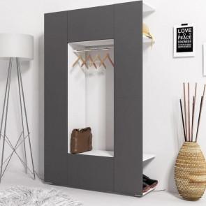 Mobile ingresso Pam Gihome ® bianco e grafite opaco