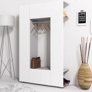 Mobile ingresso Pam Gihome ® grigio e bianco opaco