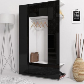 Mobile ingresso Pam Gihome ® bianco e nero lucido