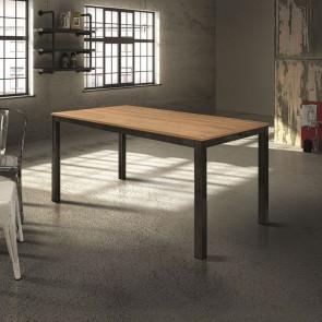 Tavolo allungabile Henry Gihome ® 140 legno rovere e metallo