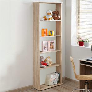 Libreria moderna Sally/Ciak quercia sonoma