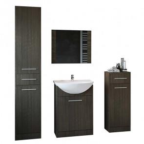 Mobile bagno Luxer wengè