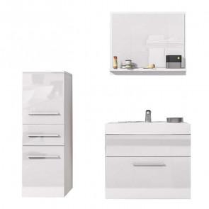Mobile bagno Sinex bianco opaco e lucido