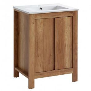 Mobile bagno Obari 60 quercia