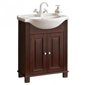 Mobile bagno Waco 65 legno naturale
