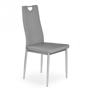 Sedia in ecopelle Ginevra Gihome ® grigio