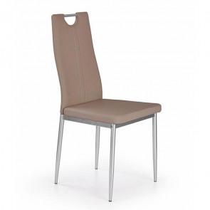 Sedia in ecopelle Ginevra Gihome ® marrone