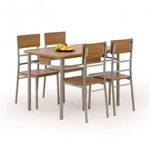 Set tavolo e 4 sedie Toledo