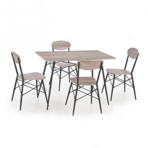 Set tavolo e 4 sedie Bistro