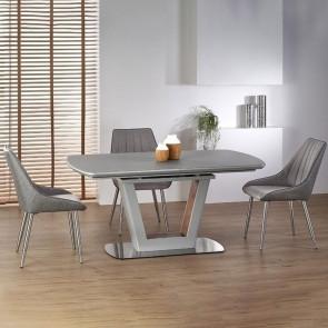 Tavolo allungabile Garofano grigio chiaro