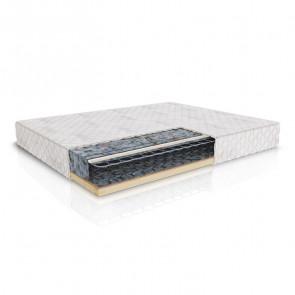 Set materasso con rete Confort Gihome ® 160x200 cm