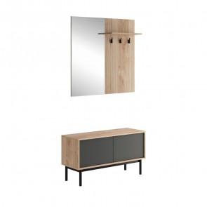 Mobile ingresso Avola Gihome ® legno grafite