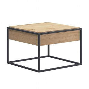 Tavolino Erice Gihome ® rovere metallo 60