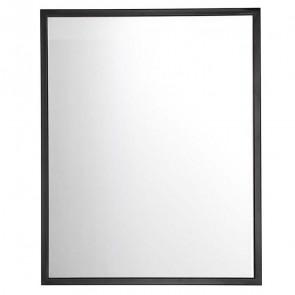 Specchio Nabran 60 - 80 nero opaco