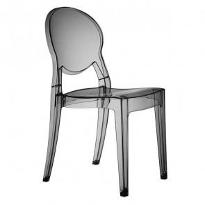Sedia Igloo Chair Scab trasparente fumè