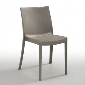 Set 6 sedie Olbia tortora