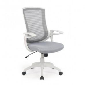 Sedia da ufficio design Diesel tessuto grigio bianca