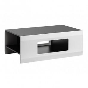 Tavolino Sting Gihome ® grafite bianco opaco