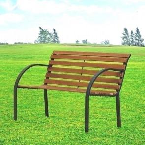 Panchina Mirian legno e metallo