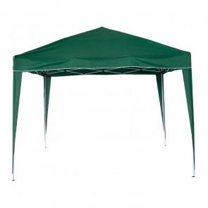 Gazebo pop up verde richiudibile poliestere 160gr/m²