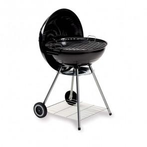 Barbecue Cupola in acciaio con ruote per campeggio giardino legna carbone carbonella
