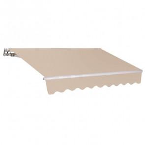 Tenda da sole a bracci unito beige 300x200